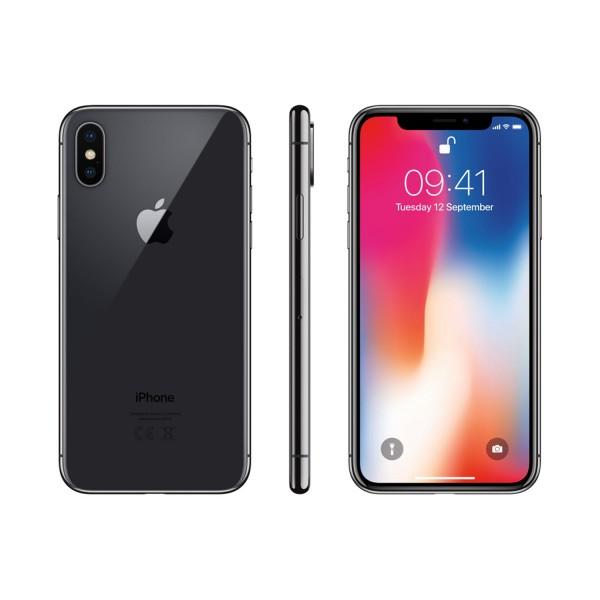 Apple iPhone X 64GB - Szürke