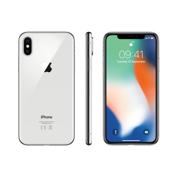 Apple iPhone X 64GB - Ezüst