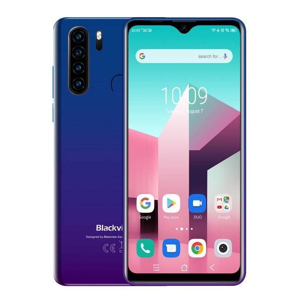 Blackview A80 Plus Dual Sim 64GB 4GB RAM - Kék