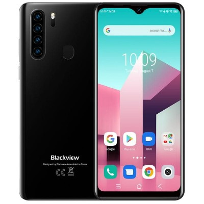 Blackview A80 Plus Dual Sim 64GB 4GB RAM - Fekete