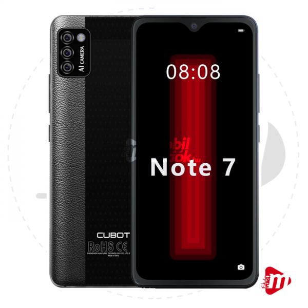 Cubot Note 7 Dual Sim 16GB 2GB RAM – Fekete