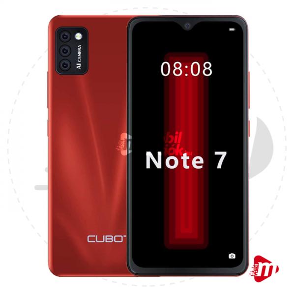 Cubot Note 7 Dual Sim 16GB 2GB RAM – Piros