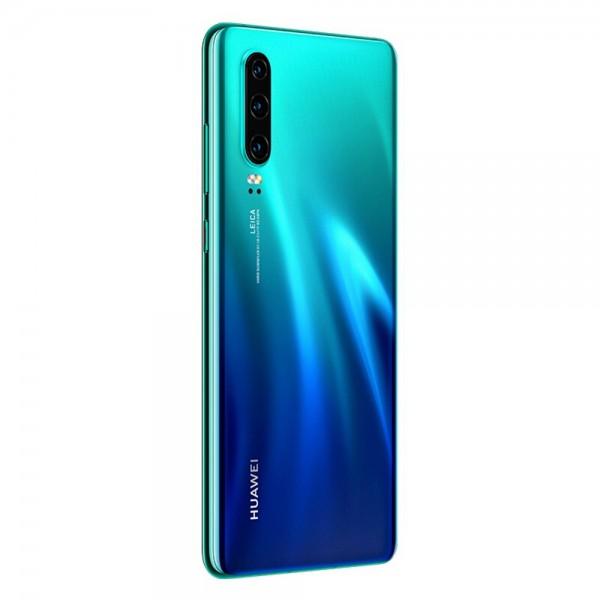 Huawei P30 Dual Sim 128GB 6GB RAM - Auróra Kék