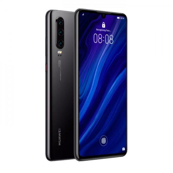 Huawei P30 Dual Sim 128GB 6GB RAM - Fekete