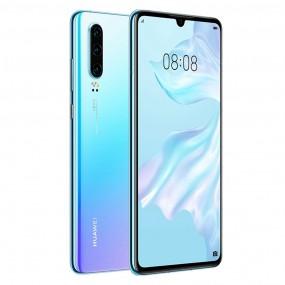 Huawei P30 Dual Sim 128GB 6GB RAM - Jégkristály Kék