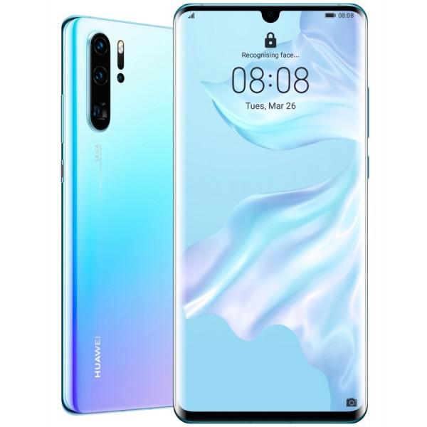 Huawei P30 Pro Dual Sim 128GB 6GB RAM - Jégkristály Kék