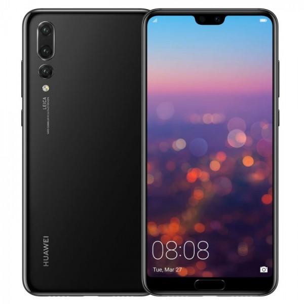 Huawei P20 Pro 128GB, Kártyafüggetlen, 2 év Gyártói garancia - Fekete