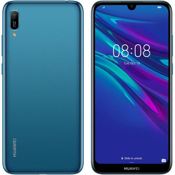 Huawei Y6 2019 32GB Dual Sim - Kék