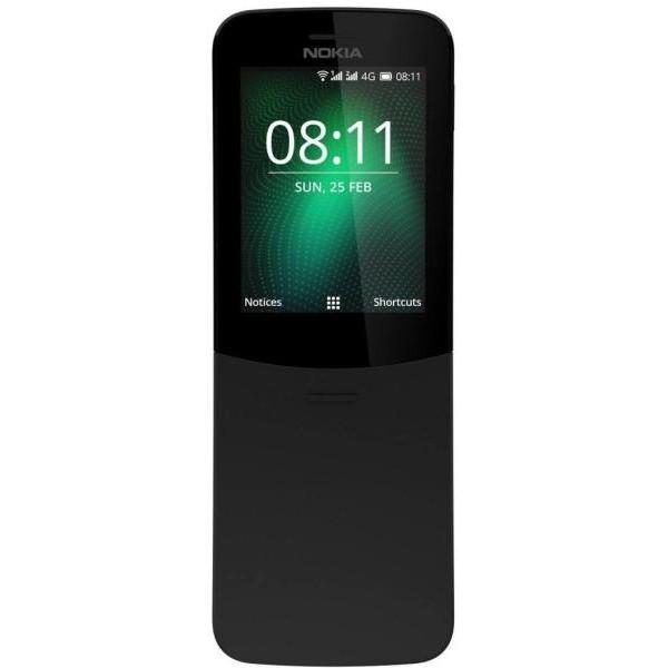 Nokia 8110 (2017) 4GB Dual Sim - Fekete