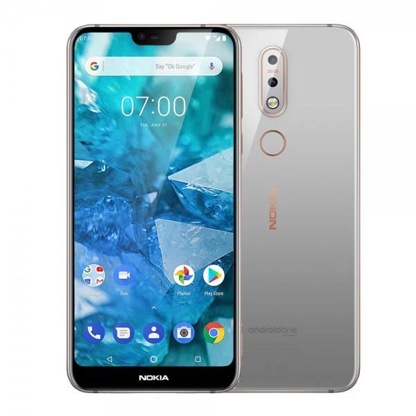 Nokia 7.1 Dual Sim 3GB RAM 32GB - Acél
