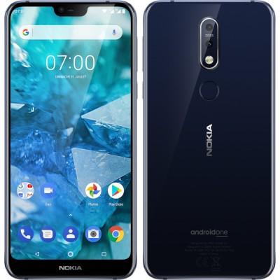 Nokia 7.1 Dual Sim 3GB RAM 32GB - Éjkék