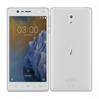 Nokia 3 LTE Fehér