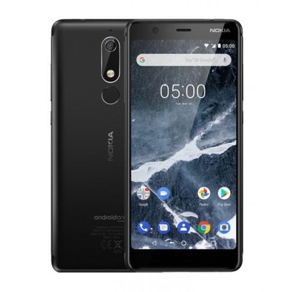 Nokia 5.1 Dual Sim 16GB - Fekete