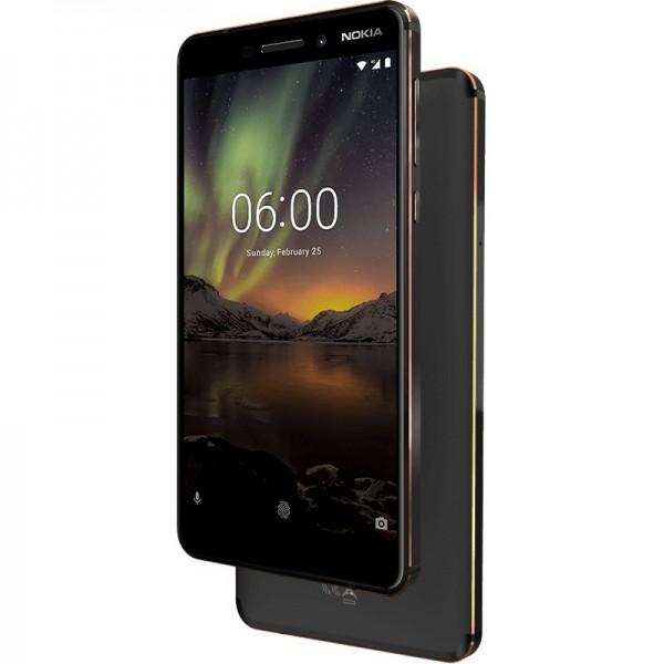 Nokia 6.1 Dual Sim 32GB LTE Fekete/Réz