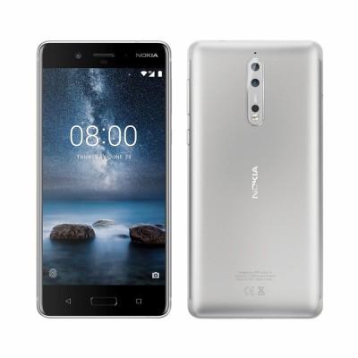 Nokia 8 Dual Sim 64GB LTE Acél