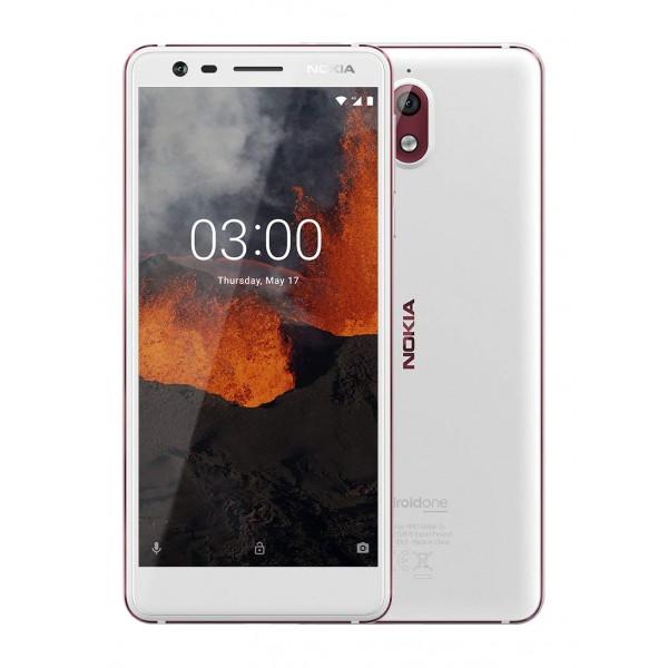 Nokia 3.1 Dual Sim 16GB - Fehér