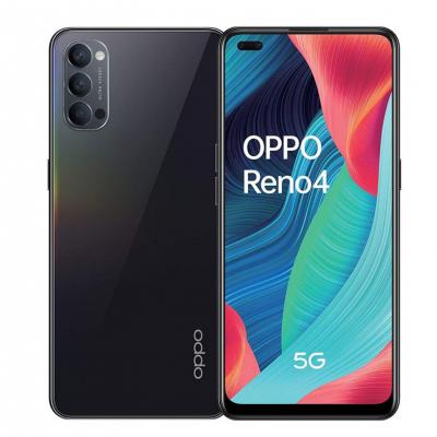 Oppo Reno 4 5G Dual Sim 128GB 8GB RAM - Fekete