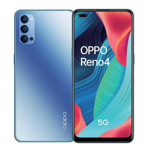 Oppo Reno 4 5G Dual Sim 128GB 8GB RAM - Kék