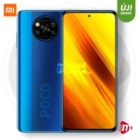 Xiaomi Pocophone X3 NFC Dual Sim 128GB 6GB RAM - Kék
