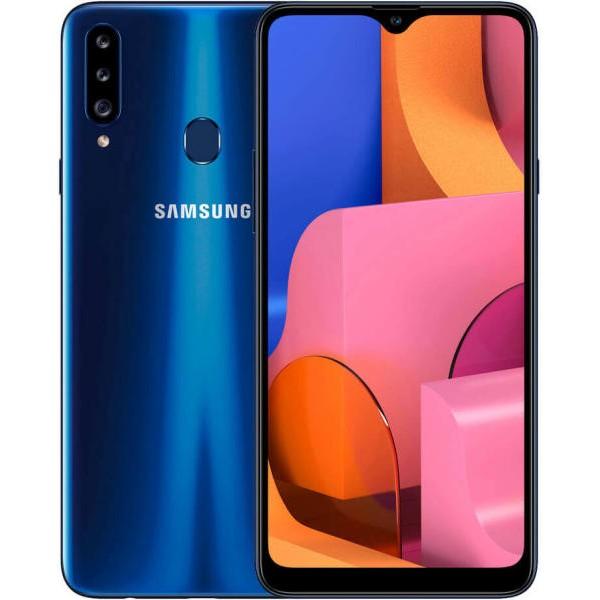 Samsung Galaxy A20S Dual Sim A207F 32GB 3GB RAM - Kék
