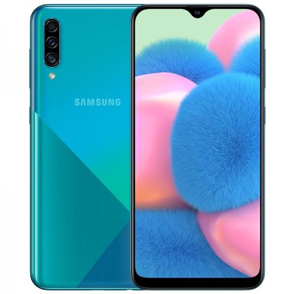 Samsung Galaxy A30S Dual Sim A307F 64GB 4GB RAM - Zöld