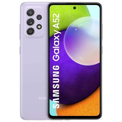 Samsung Galaxy A52 5G Dual Sim A526 128GB 6GB RAM - Király Lila