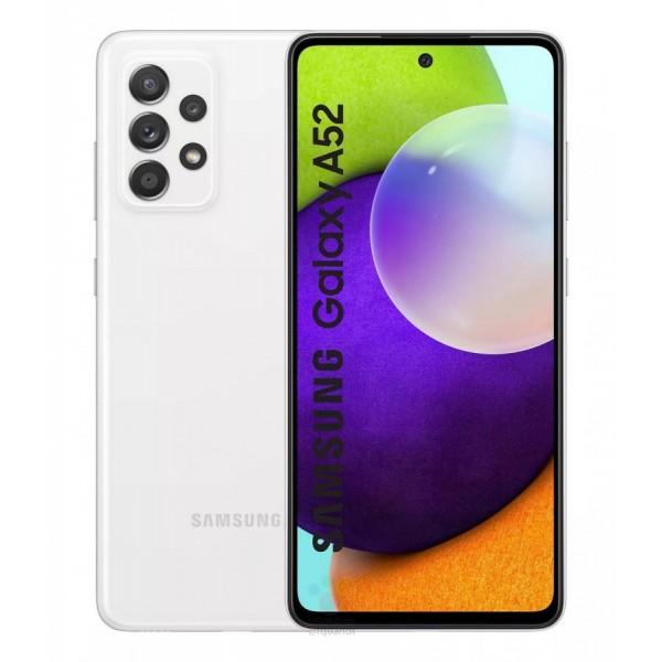 Samsung Galaxy A52 Dual Sim A525F 128GB 6GB RAM - Fehér