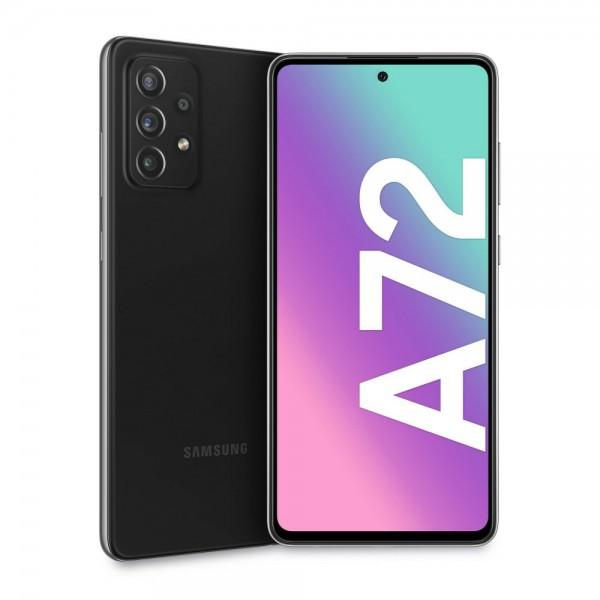 Samsung Galaxy A72 Dual Sim A725 128GB 6GB RAM - Fekete