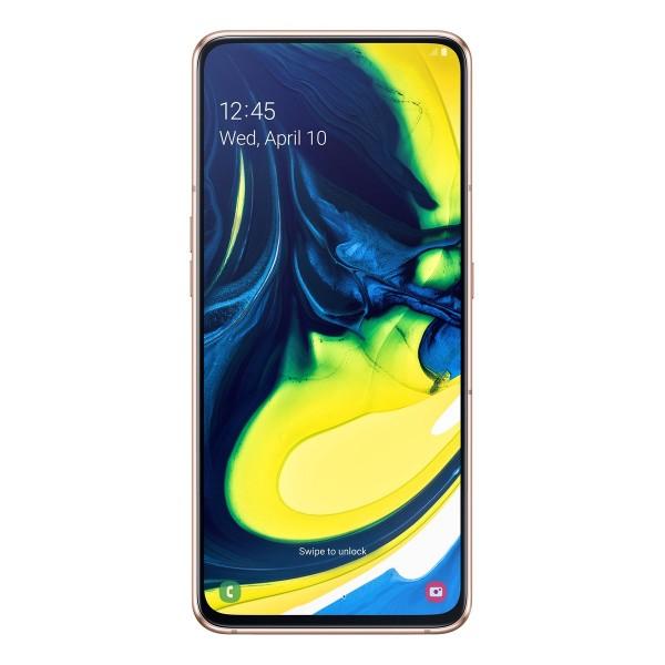 Samsung Galaxy A80 A805F Dual Sim 128GB 8GB RAM - Arany