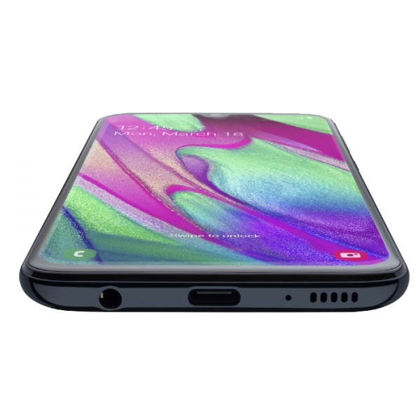 Samsung Galaxy A40 Dual Sim 64GB 4GB RAM - Fekete