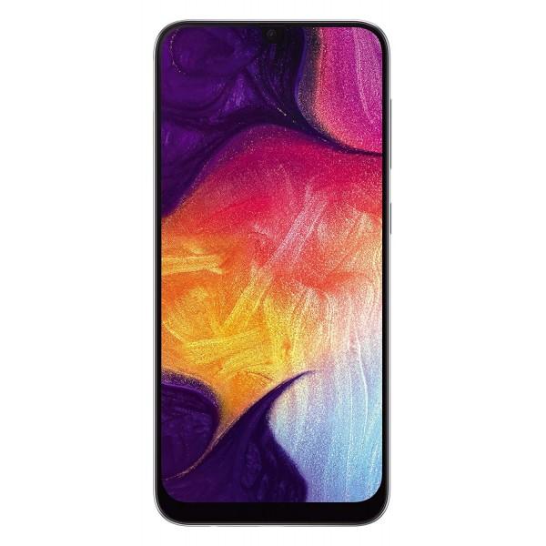 Samsung Galaxy A50 Dual Sim 128GB 4GB RAM - Fehér