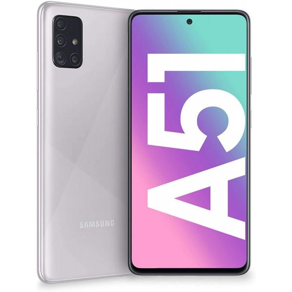 Samsung Galaxy A51 Dual Sim 128GB 4GB RAM A515F - Ezüst