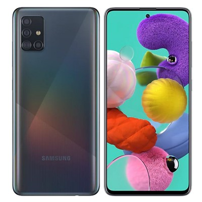 Samsung Galaxy A51 Dual Sim 128GB 4GB RAM A515F - Fekete