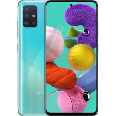 Samsung Galaxy A51 Dual Sim 128GB 4GB RAM A515F - Kék