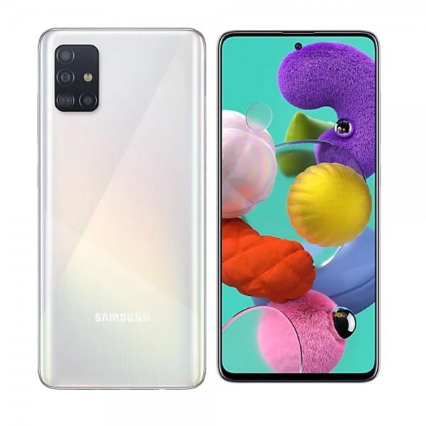 Samsung Galaxy A51 Dual Sim 128GB 4GB RAM A515F - Fehér
