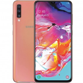 Samsung Galaxy A70 Dual Sim 128GB 6GB RAM - Korall