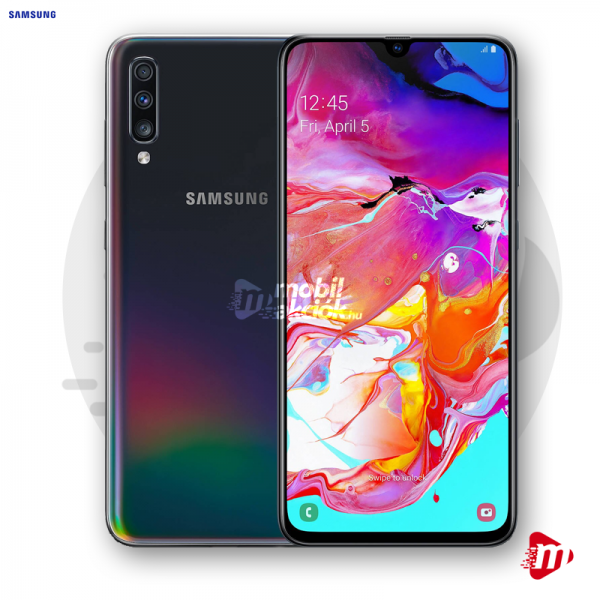 Samsung Galaxy A70 Dual Sim 128GB 6GB RAM - Fekete