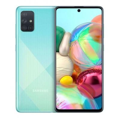Samsung Galaxy A71 Dual Sim 128GB 6GB RAM A715F - Kék