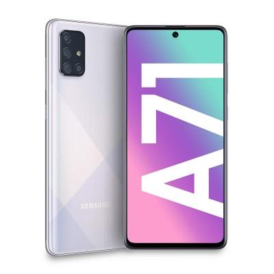 Samsung Galaxy A71 Dual Sim 128GB 6GB RAM A715F - Ezüst