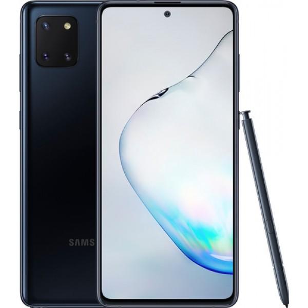 Samsung Galaxy Note 10 Lite N770F Dual Sim 128GB 6GB RAM - Fekete