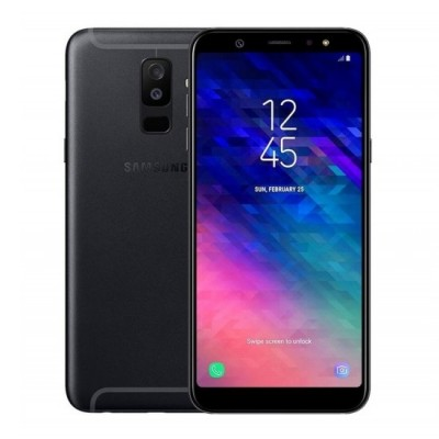 Samsung Galaxy A6 Plus (2018) A605 Dual Sim 32GB Fekete