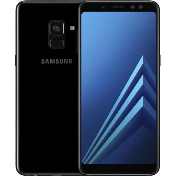 Samsung Galaxy A8 (2018) A530 32GB Dual Sim - Fekete