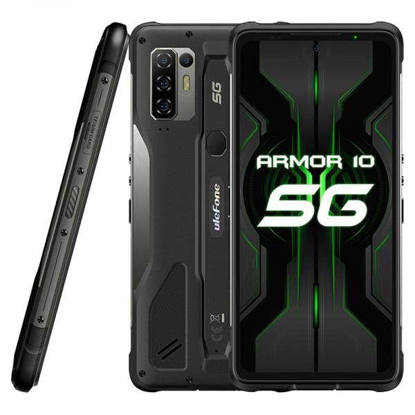 Ulefone Armor 10 5G Dual Sim 128GB 8GB RAM – Fekete
