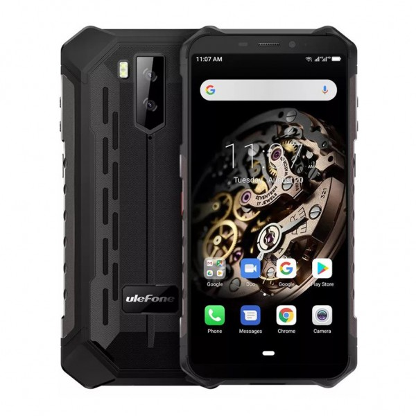 Ulefone Armor X5 Pro Dual Sim 64GB 4GB RAM - Fekete