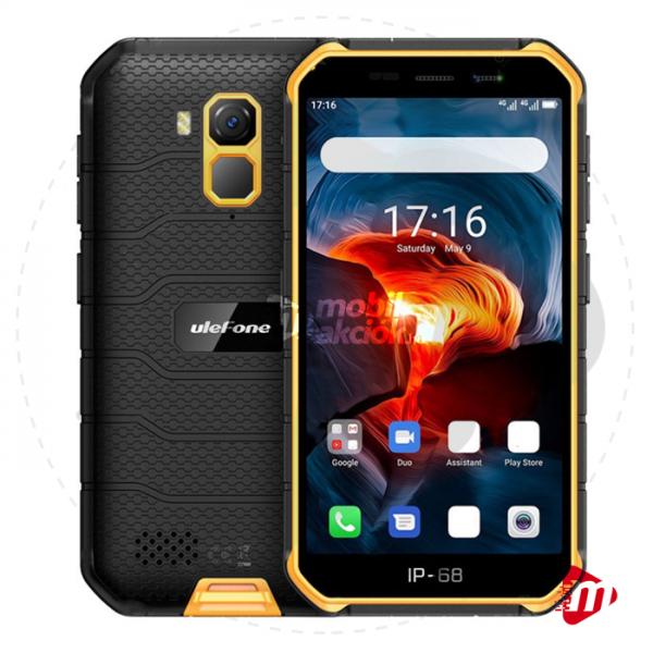Ulefone Armor X7 Dual Sim 16GB 2GB RAM – Narancssárga
