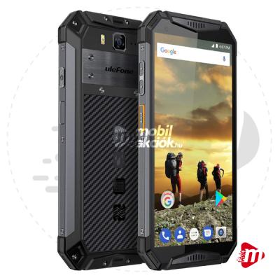 Ulefone Armor 3W Dual Sim 64GB 6GB RAM – Fekete