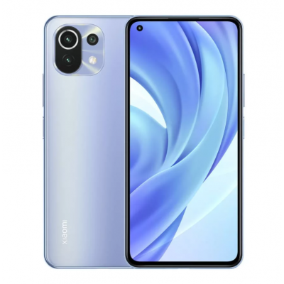 Xiaomi Mi 11 Lite Dual-SIM 128GB 6GB RAM - Kék (2 Év Gyártói Garancia!)