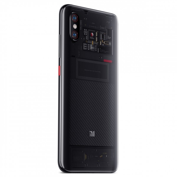 Xiaomi Mi 8 Pro Dual Sim 128GB 8GB RAM - Átlátszó Titánium