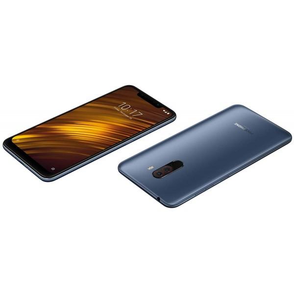 Xiaomi Pocophone F1 Dual Sim 128GB 6GB RAM - Kék