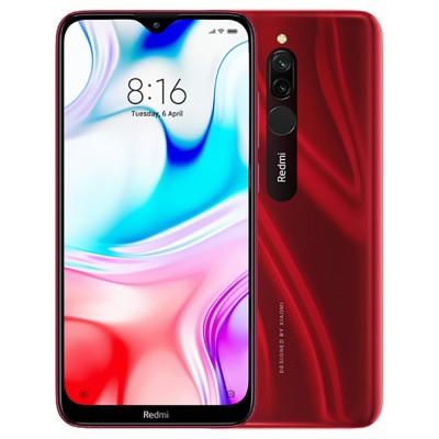 Xiaomi Redmi 8 Dual Sim 32GB 3GB RAM - Piros